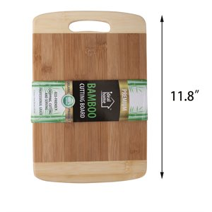 BAMBOO CUTTING BOARD 11.8""