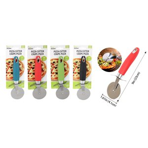 IDEAL KITCHEN STAINLESS STEEL PIZZA CUTTER