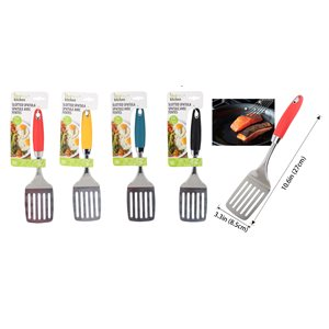 IDEAL KITCHEN STAINLESS STEEL SPATULA SLOTTED