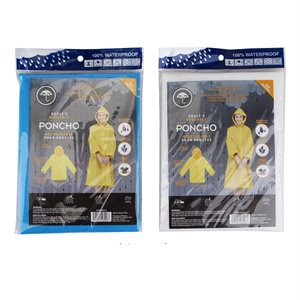 ADULT REUSABLE PONCHO