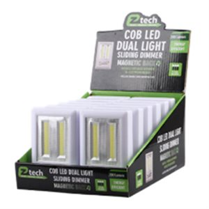 COB LED Dual Light Adjustable w / battery