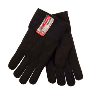 MENS GLOVES WITH FUR LINING
