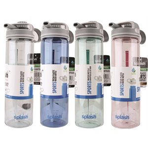 Splash Plastic Water Bottle 750ml