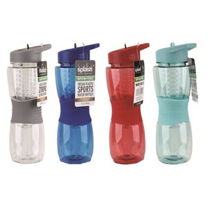 Splash Flavor Insulated Plastic Water Bottle 600ml