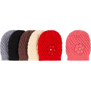 LADIES FASHION WINTER HAT W /  FLOWER