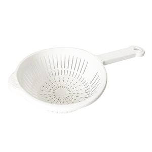 GALIWARE COLANDER WITH HANDLE WHITE